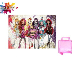 Rótulo maleta acrílica Ever After High