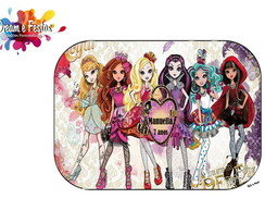 Rótulo Marmitinha 250g Ever After High