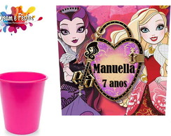 Rótulo Balde de Pipoca 1l Ever After High