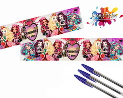 Rótulo Caneta Ever After High