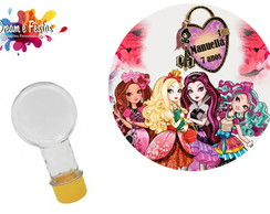 Rótulo tubete redondo Ever After High