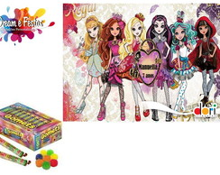 Rótulo Bala de Goma Ever After High