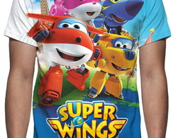 Camiseta Super Wings - Estampa Total