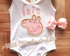 Collant/body da peppa