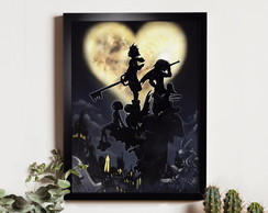 Quadro Kingdom Hearts - Heart in Shadows
