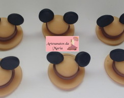 Aplique Chapeu do Mickey Safari em biscuit