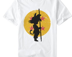 Camiseta ou BabyLook Dragon Ball Goku Esferas do Dragão