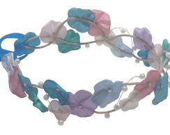 Headband Coroa de Fada Colorida