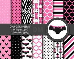Kit Digital - Chá de Lingerie