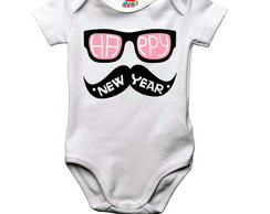 Body bebê ou camiseta infantil Happy New Year