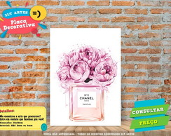Placa Decorativa - Perfume - REF0286