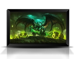 Quadro/Poster Game World of Warcraft - Illidan GG015