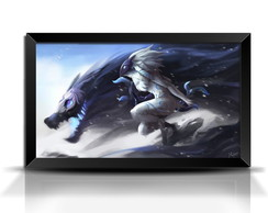 Quadro/Poster Game League of Legends Kindred GG022