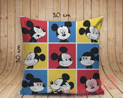 0Almofada Disney - Mickey Faces