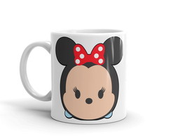 Caneca Mickey e Minnie Tsum