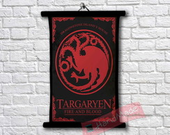 1Pergaminho Game of Thrones - Targaryen