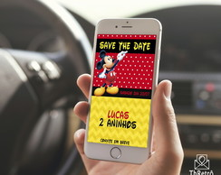 Save The Date Mickey
