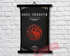 1Pergaminho Game of Thrones - Casa Targaryen