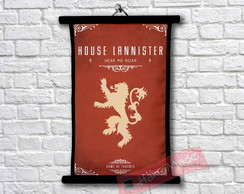 1Pergaminho Game of Thrones - Casa Lannister