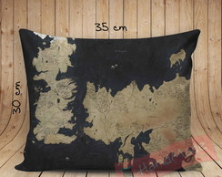 0Almofada Game of Thrones - Mapa de Westeros