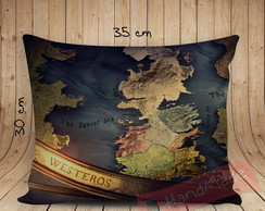 0Almofada Game of Thrones - Mapa de Westeros 2
