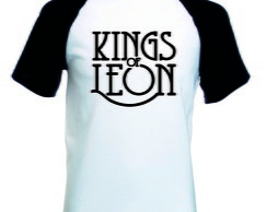 Camiseta Raglan Manga Curta Kings Of Leon