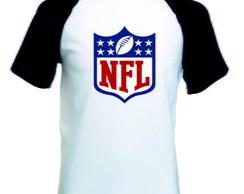 024db597da Camiseta Raglan Manga Curta NFL Futebol Americano