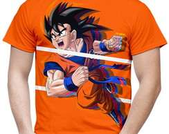 Camiseta Masculina Dragon Ball Goku MD06