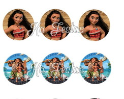 Kit Digital Toppers / Tags Moana