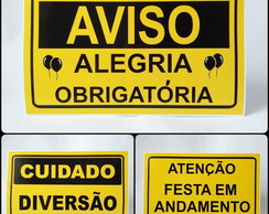Display - Placas de Obras