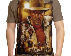 Camiseta Masculina Indiana Jones