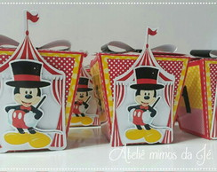 Caixa Sushi - Circo do Mickey