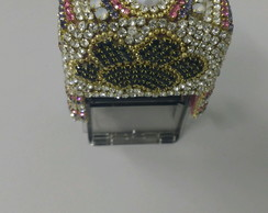 Carimbo customizado com strass