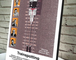 Poster / Quadro A4 Trainspotting