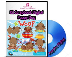 Kit Scrapbook Digital - Puppy Dog