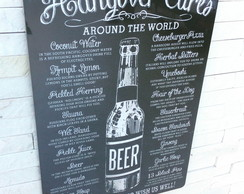 Placa Decorativa Hangover Cures