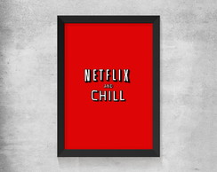 Quadro Netflix and Chill