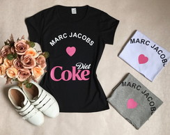 Camiseta Baby Look Coke