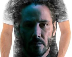 Camiseta John Wick Devolta Ao Jogo Camisas Personalizadas  3139e04cd785a