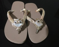 Chinelo Havaianas Top Rose Gold