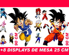 Totem De Chão Dragon Ball Baby E Displays De Mesa