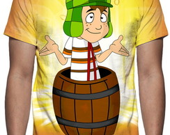 Camiseta A Turma Do Chaves - Estampa Total