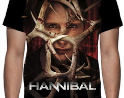 Camiseta Série Hannibal - Estampa Total