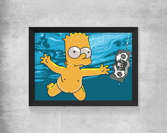 Quadro Simpsons - Bart Nevermind