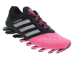 adidas springblade rosa de oncinha