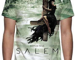 Camiseta Série Salem - Estampa Total