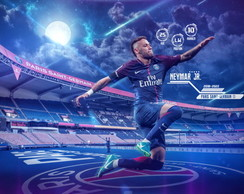 Painel 1x0,65m Paris Saint Germain