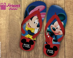 CHINELO PERSONALIZADO MICKEY/MINNIE