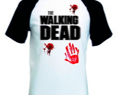 Camiseta Raglan Manga Curta The Walking Dead