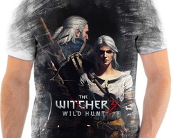 Camisa Camiseta Personalizada Jogo The Witcher 3 PC 0